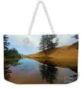 Oregon Dunes Pond Weekender Tote Bag