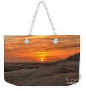 Oregon Dunes Sunset Weekender Tote Bag