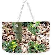 Oregon Grape Painting Weekender Tote Bag