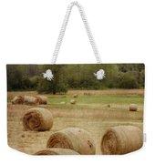 Oregon Hay Bales Weekender Tote Bag by Carol Leigh