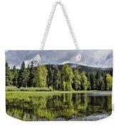 Oregon Lake Weekender Tote Bag