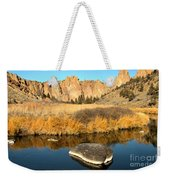 Oregon River Rock Reflections Weekender Tote Bag
