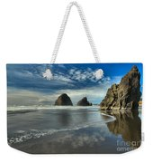 Oregon Sea Stack Surf Weekender Tote Bag by Adam Jewell