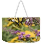 Oregon Swallowtail In The Garden  Weekender Tote Bag