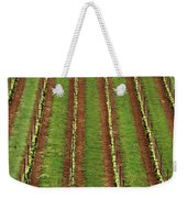 Oregon Vineyard Rows Panoramic Weekender Tote Bag