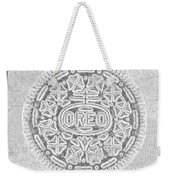 Oreo In Grey Weekender Tote Bag