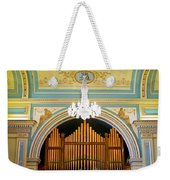 Organ And Ceiling Weekender Tote Bag