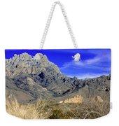 Organ Mountain Frosty Top Weekender Tote Bag