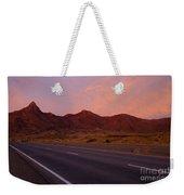 Organ Mountain Sunrise Highway Weekender Tote Bag