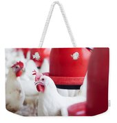 Organic Chicken Coop  Weekender Tote Bag