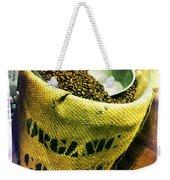 Organic Coffee Weekender Tote Bag