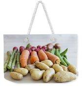 Organic Garden Vegetables Weekender Tote Bag