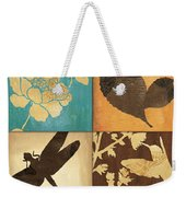 Organic Nature 4 Weekender Tote Bag by Debbie DeWitt