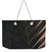 Organic Palm Weekender Tote Bag
