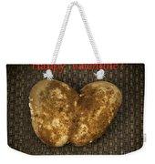 Organic Valentine Weekender Tote Bag