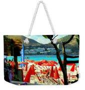 Orient Beach Peek Weekender Tote Bag