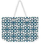 Orient Blue And White Interlude Weekender Tote Bag
