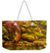 Orient - The Japanese Garden Weekender Tote Bag