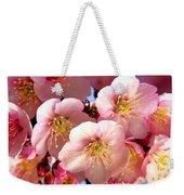 Oriental Flowers Weekender Tote Bag