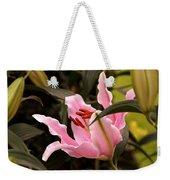 Oriental Lily Beauty Weekender Tote Bag