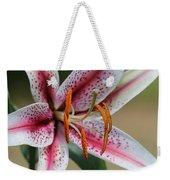 Oriental Lily Named Tiger Edition Weekender Tote Bag