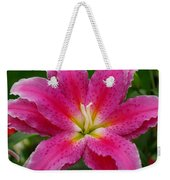Oriental Lily Weekender Tote Bag