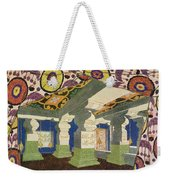 Oriental Scenery Design Weekender Tote Bag
