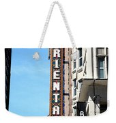 Oriental Theater With Watercolor Effect Weekender Tote Bag