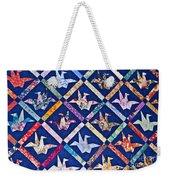 Origami Quilt Wall Art Prints Weekender Tote Bag