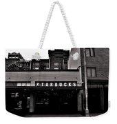 Original Starbucks Black And White Weekender Tote Bag