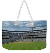 Oriole Park At Camden Yards Stadium Weekender Tote Bag by Susan Candelario
