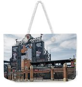 Oriole Park At Camden Yards Weekender Tote Bag by Susan Candelario