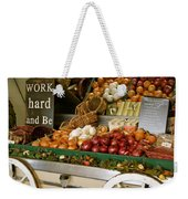 Work Hard And Be - Country Onion Cart Weekender Tote Bag
