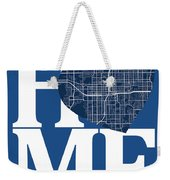 Orlando Street Map Home Heart - Orlando Florida Road Map In A He Weekender Tote Bag
