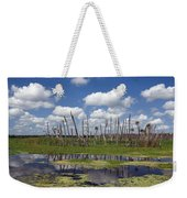 Orlando Wetlands Cloudscape Weekender Tote Bag by Mike Reid