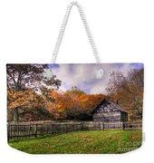 Orlean Puckett's Cabin Weekender Tote Bag by Benanne Stiens
