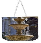 Ormond Water Fountain Weekender Tote Bag