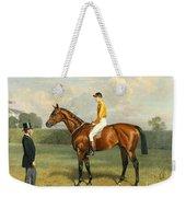 Ormonde Winner Of The 1886 Derby Weekender Tote Bag by Emil Adam
