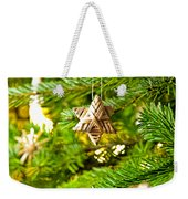Ornament In A Christmas Tree Weekender Tote Bag