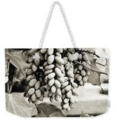Ornamental Bush - Sepia Weekender Tote Bag