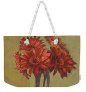 Ornamental Gerbers Weekender Tote Bag