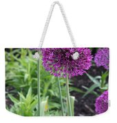 Ornamental Leek Flower Weekender Tote Bag