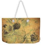 Ornamental Thistle Flower Weekender Tote Bag