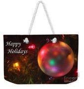 Ornaments-1942-happyholidays Weekender Tote Bag