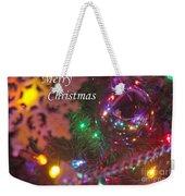 Ornaments-2090-merrychristmas Weekender Tote Bag