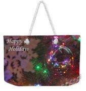 Ornaments-2096-happyholidays Weekender Tote Bag
