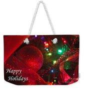 Ornaments-2107-happyholidays Weekender Tote Bag