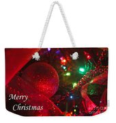 Ornaments-2107-merrychristmas Weekender Tote Bag