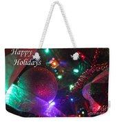 Ornaments-2130-happyholidays Weekender Tote Bag