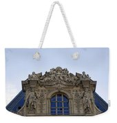 Ornate Architectural Artwork On The Musee Du Louvre Buildings In Paris France  Weekender Tote Bag